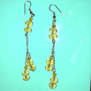 Citron inspired Dangle Earrings